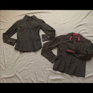 Bundle 2 dress shirts, The Limited & Express.
